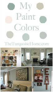 the paint colors in my home the turquoise home