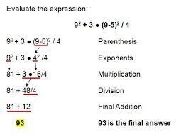 order of operations worksheets with exponents order of operations with exponents lessons tes teach