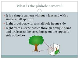 the history of the pinhole