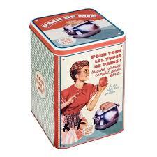 boite metal cuisine large choix de boîtes de rangement décoratives et utiles pour