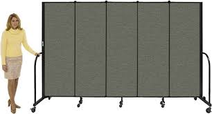 Rolling Room Dividers by Screenflex Moveable Divider 13 U00271