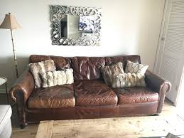 Lancaster Leather Sofa Restoration Hardware Lancaster Leather Sofa In Dupage County
