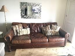 Leather Sofa Restoration Restoration Hardware Lancaster Leather Sofa In Dupage County