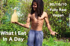 what i eat in a day 80 10 10 raw vegan diet youtube