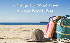 6 things you must have in your beach bag