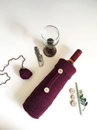 how to make a crochet wine bottle cover the best hostess gift