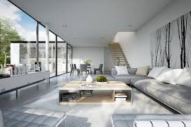 cool home interiors 25 modern living rooms with cool clean lines