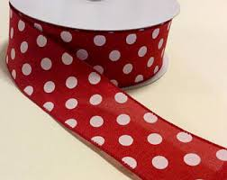 polka dot ribbon polka dot ribbon etsy