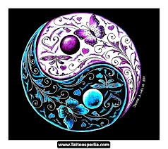yin yang dragon tiger tattoo design photos pictures and