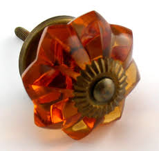 Red Glass Cabinet Knobs Amber Glass Drawer Knobs Collection On Ebay