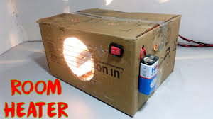 make a room how to make room heater at home youtube
