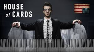house of cards main theme piano cover youtube
