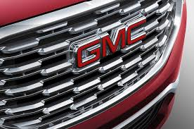 2018 gmc terrain white first look 2018 gmc terrain automobile magazine