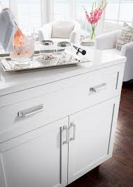 Kitchen Cabinet Handles Uk Top Knobs Barrington Collection Cup Pulls Pictured On Drawer