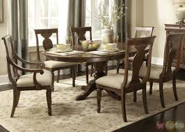 oval dining table modern home decorations