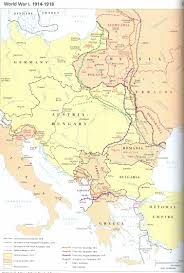 1914 Europe Map by Syllabus History 348 Unlv