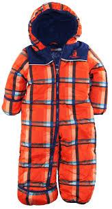 Rugged Clothes Amazon Com Rugged Bear Baby Boys Newborn Plaid One Piece Puffer