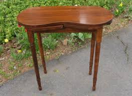 Vanity Skirts Vintage Wood Kidney Shaped Vanity Table For The Home Pinterest