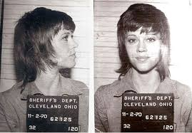 jane fonda 1970 s hairstyle in 1970 jane fonda was arrested for kicking a police officer