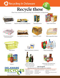 what u0027s recyclable in delaware