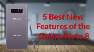 5 best new features of the galaxy note 8 youtube tech guy youtube
