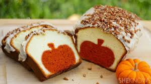 Cake Recipes For Halloween This Clever Pumpkin Pound Cake Recipe Is Almost Too Cute To Eat