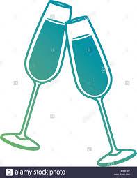 champagne glasses clipart champagne flute illustration stock photos u0026 champagne flute