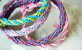 make hemp friendship bracelets and more with a kumihimo braiding