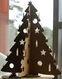 cardboard christmas tree cardboard christmas trees nokoncept