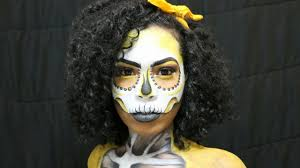 hilarious yellow skull makeup tutorial skulldakyellow youtube