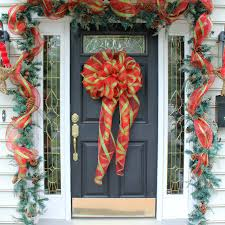 best big diy holiday bows fresh idea studio