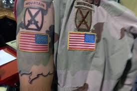 army tattoos your respect for the defenders of freedom