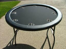 poker table speed cloth premium 52 round black suited speed cloth poker table