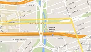 Boston College Map The Secret A Treasure Hunt Maps