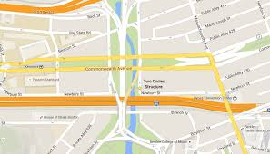 Boston College Map by The Secret A Treasure Hunt Maps