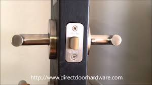 Modern Door Handles Sure Loc Juneau Modern Door Lever Youtube