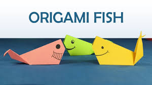 kids craft easy origami for kids diy origami fish step by step