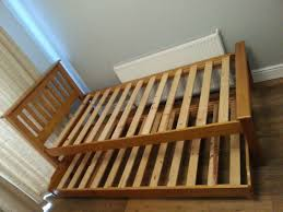 john lewis off display solid pine duo guest bed frame lift