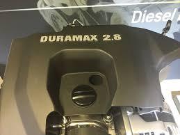 colorado u0027s 2 8l turbo diesel a look inside the