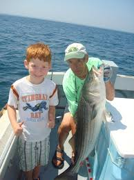 Cape Cod Kids Fishing - cape cod fishing charters chatham for stripers striped bass