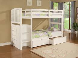 White Wooden Bunk Bed Kids White Wooden Bunk Beds Latitudebrowser