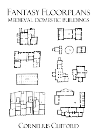 medieval domestic buildings fantasy floorplans dreamworlds
