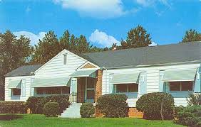 Awnings Of Distinction House U0026 Home Advertising Chromes Postcardy Com