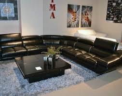 Contemporary Black Leather Sofa Sofa Black Sofa Set Inspirational U201a Contemporary Black Rattan