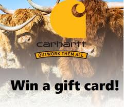 instant win gift cards carhartt outwork them all win gift cards instant win