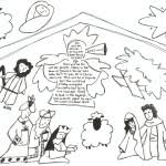bible coloring nativity pages book boys bebo pandco