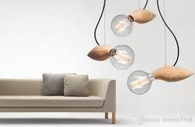 Light Bulb Pendant Fixture by Discount Modern Creative Cartoon Bee Pendant Lamp Balcony Wood