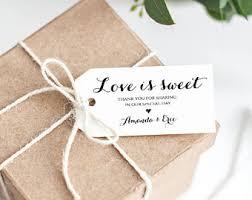 wedding favor tags wedding favor tags etsy