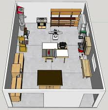 feedback wanted on shop layout of newly completed detached
