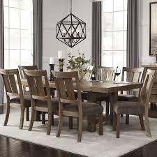 9 dining room set loon peak etolin 9 dining set reviews wayfair